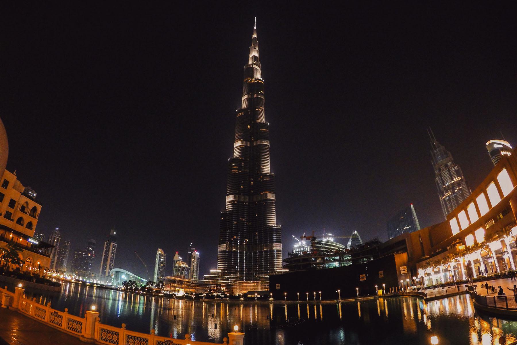 Na skok v Dubaji
