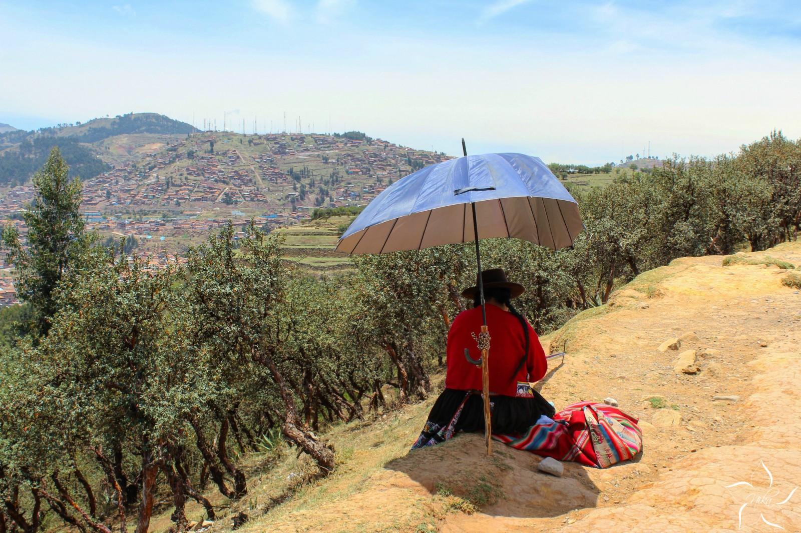 Cuzco Peru peruánska žena