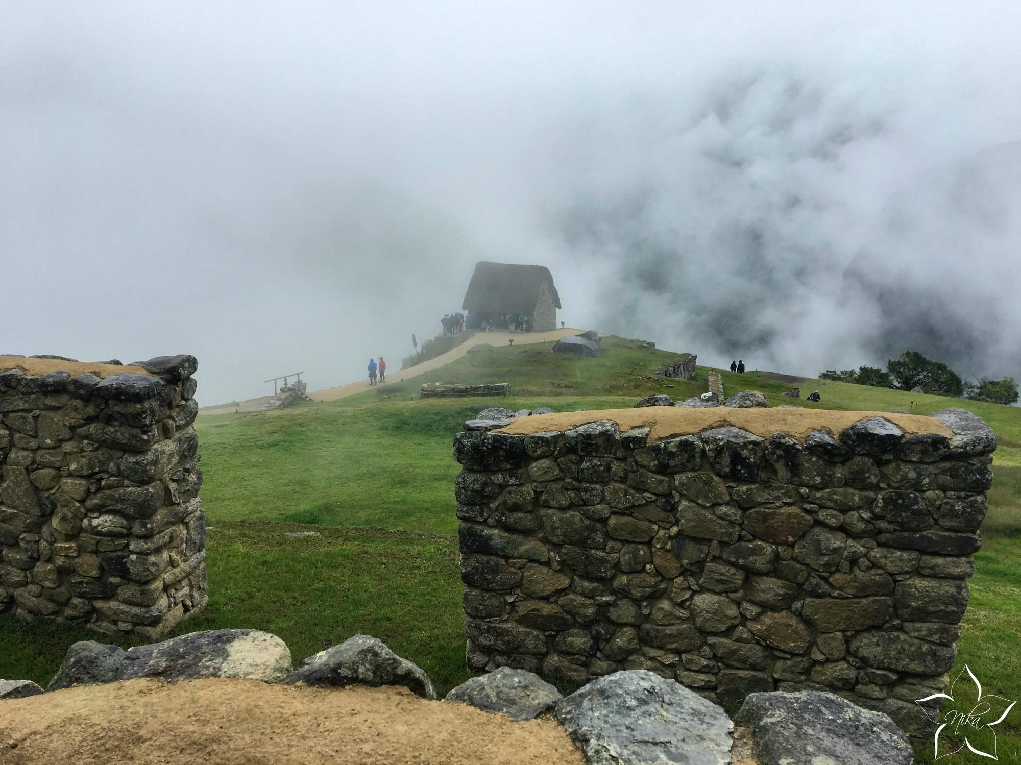 Peru Machu Picchu domček