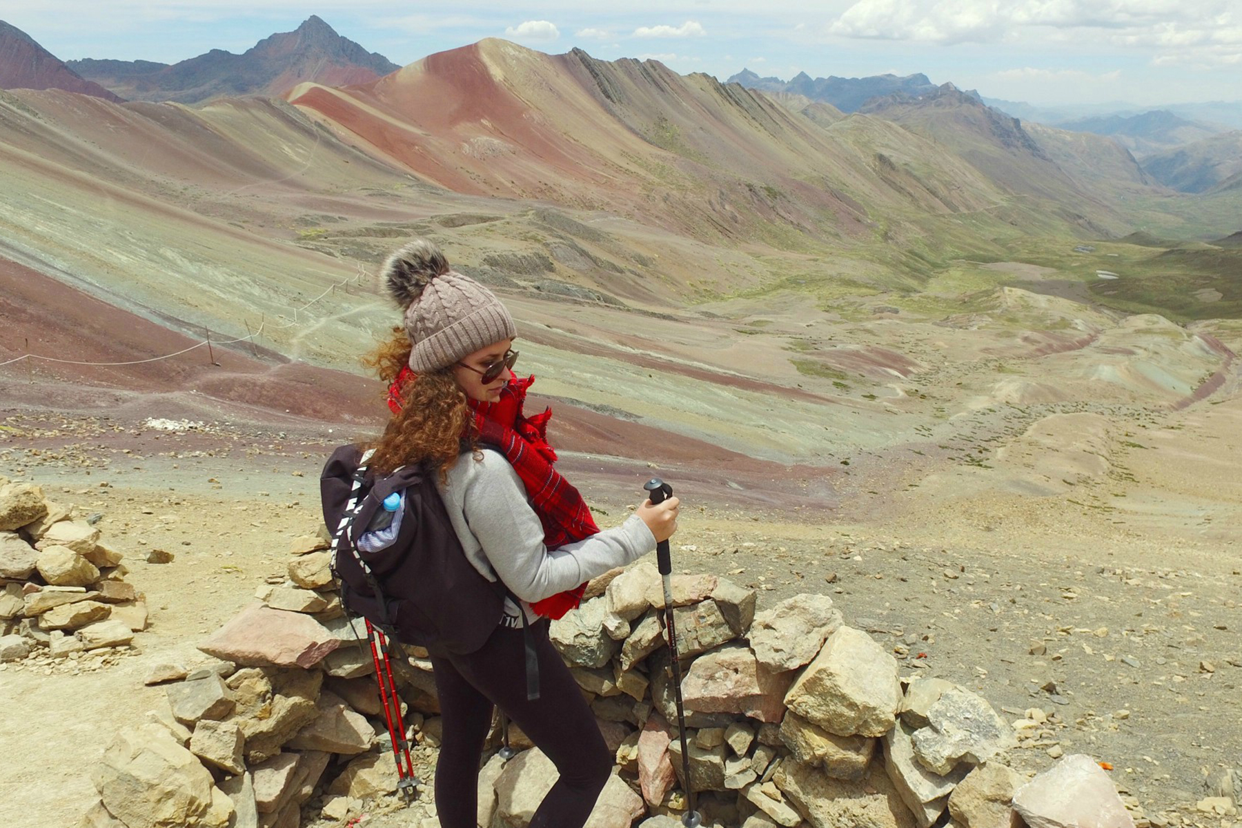 Peru po stopách dúhy - dúhová hora Vinicunca Rainbow Mountain