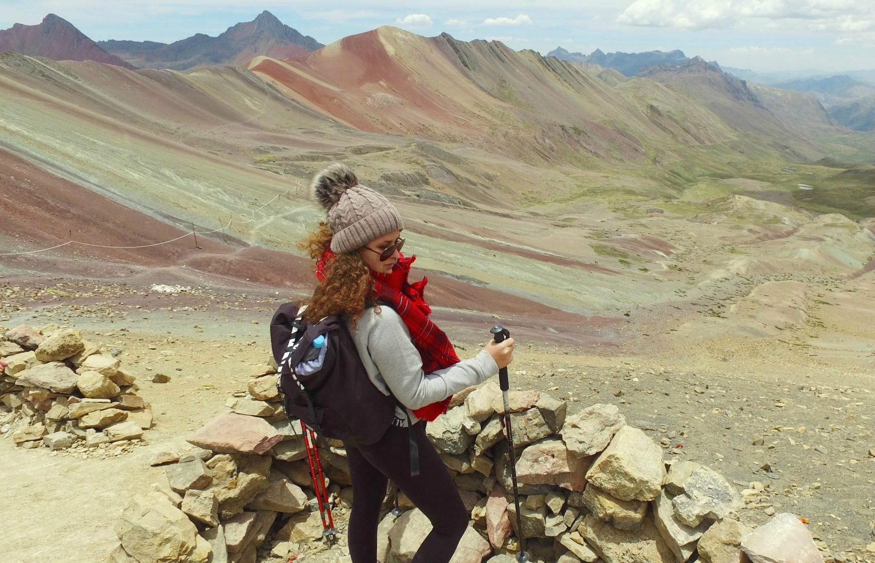 Trek na Duhovu horu Vinicunca Peru