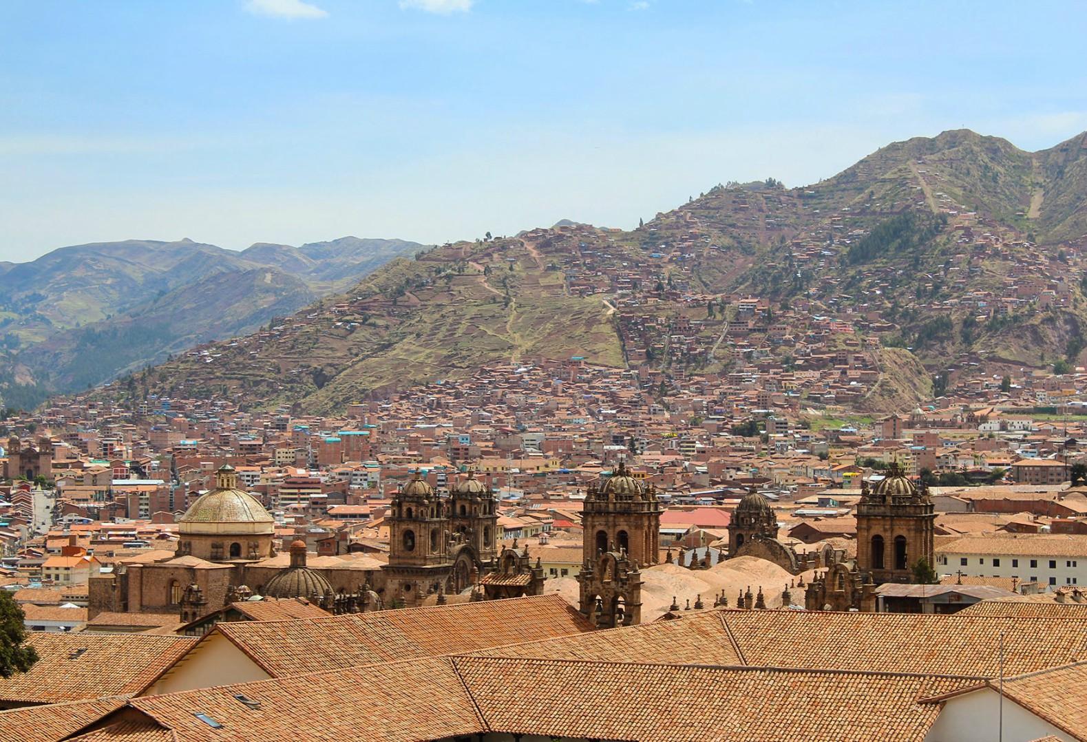 cuzco peru pohorie