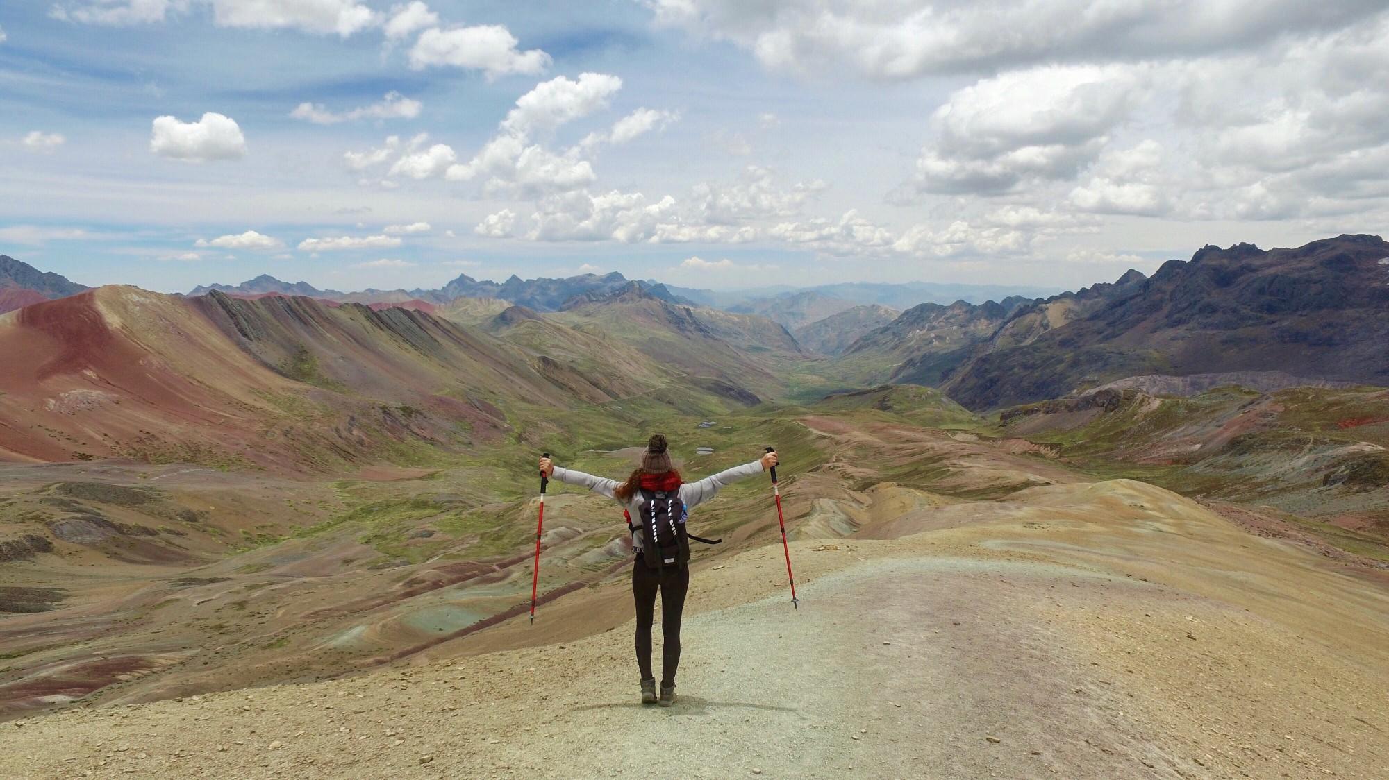 rainbow mountain vinicunca peru trek juzna amerika
