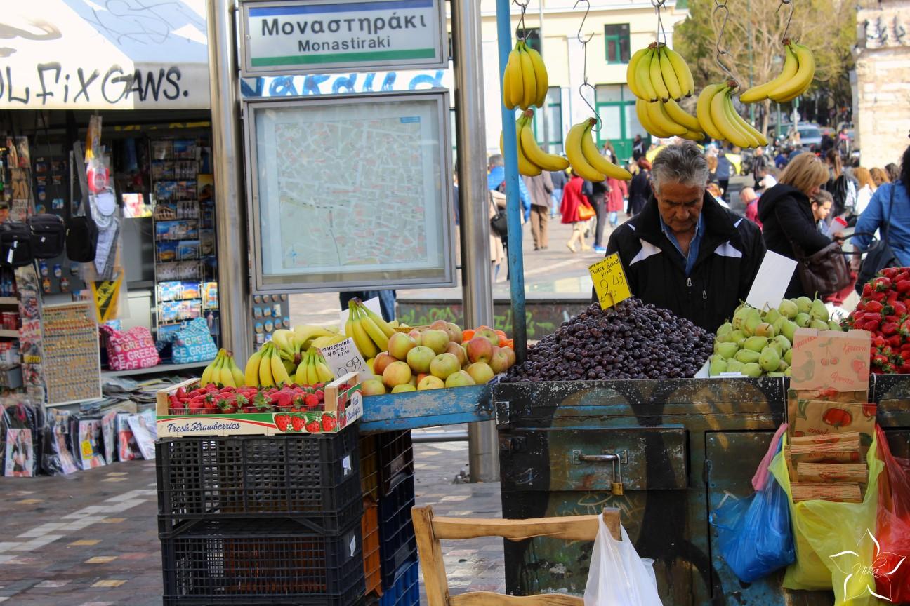 monastiraki fruits market