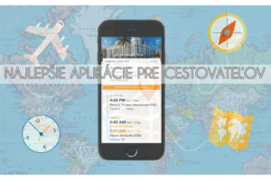 Najlepšie aplikácie pre cestovateľov