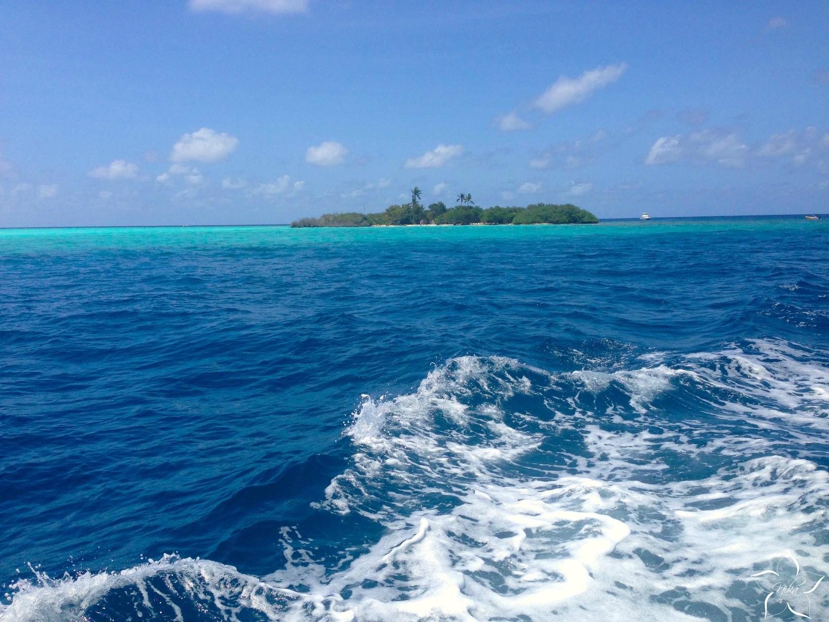 plavba lodou maldivy