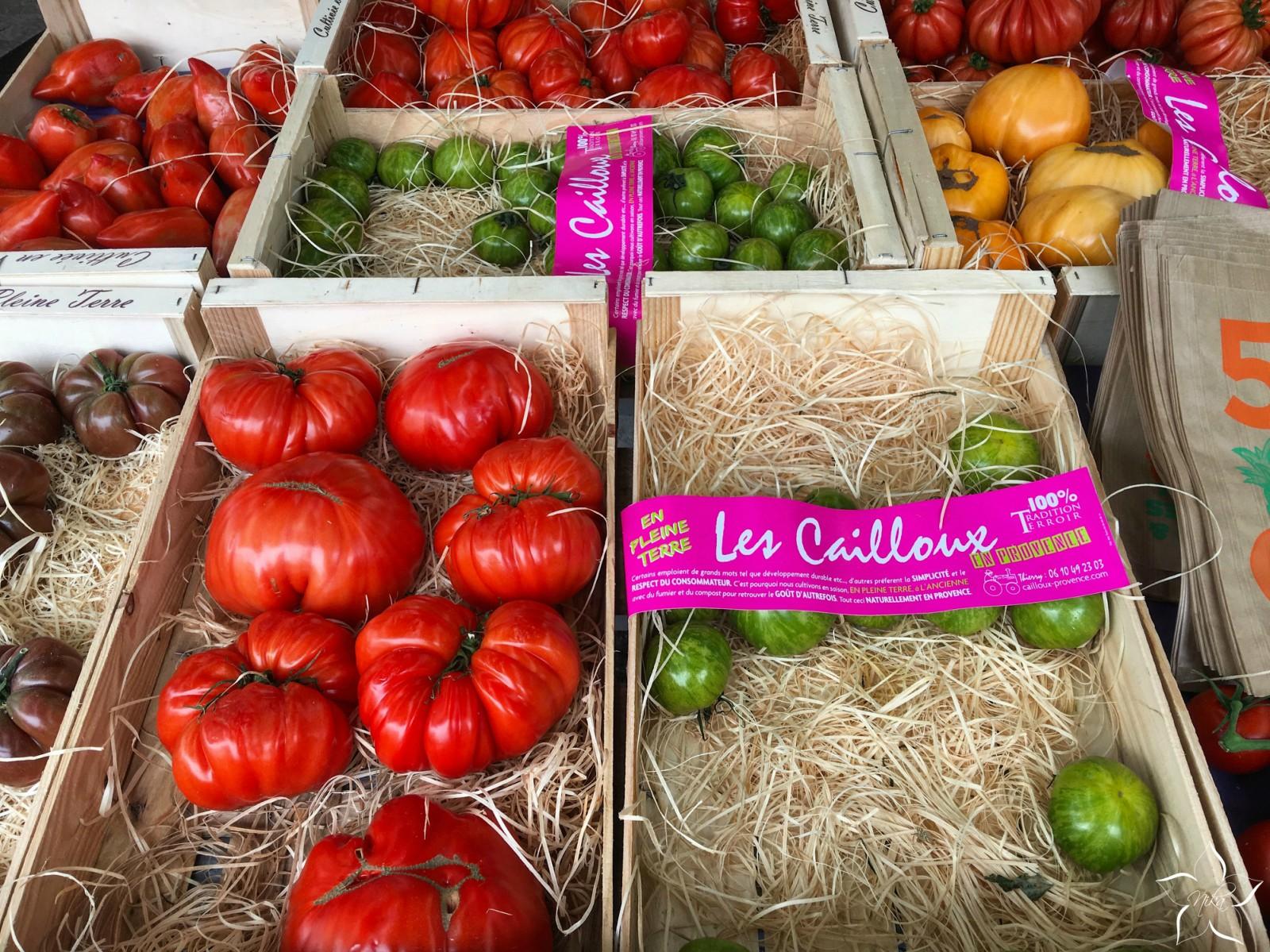 paradajky francuzsko trh