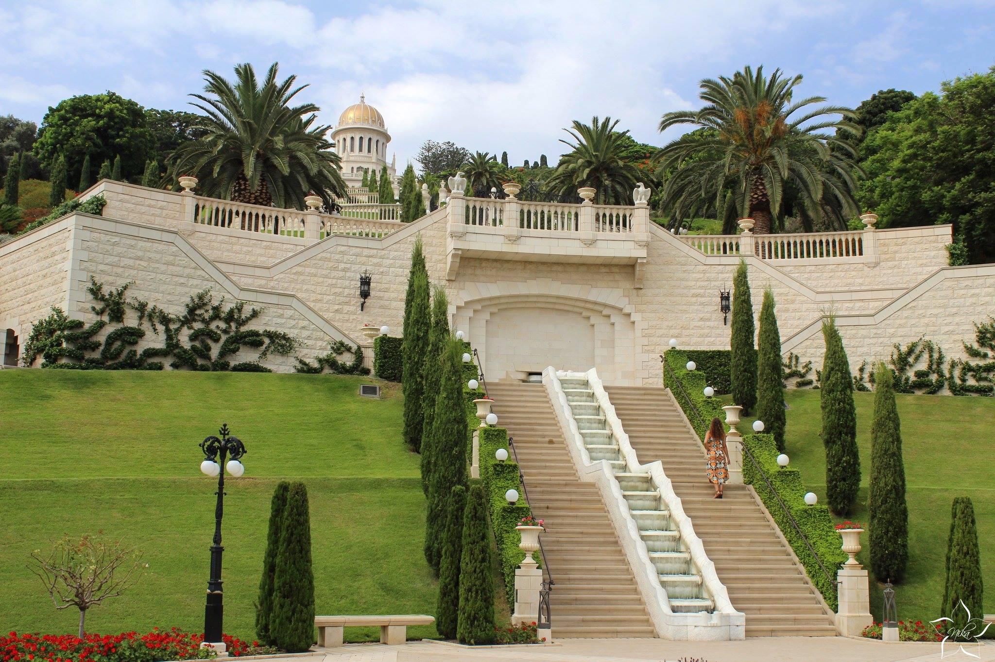 haifa bahais gardens izrael