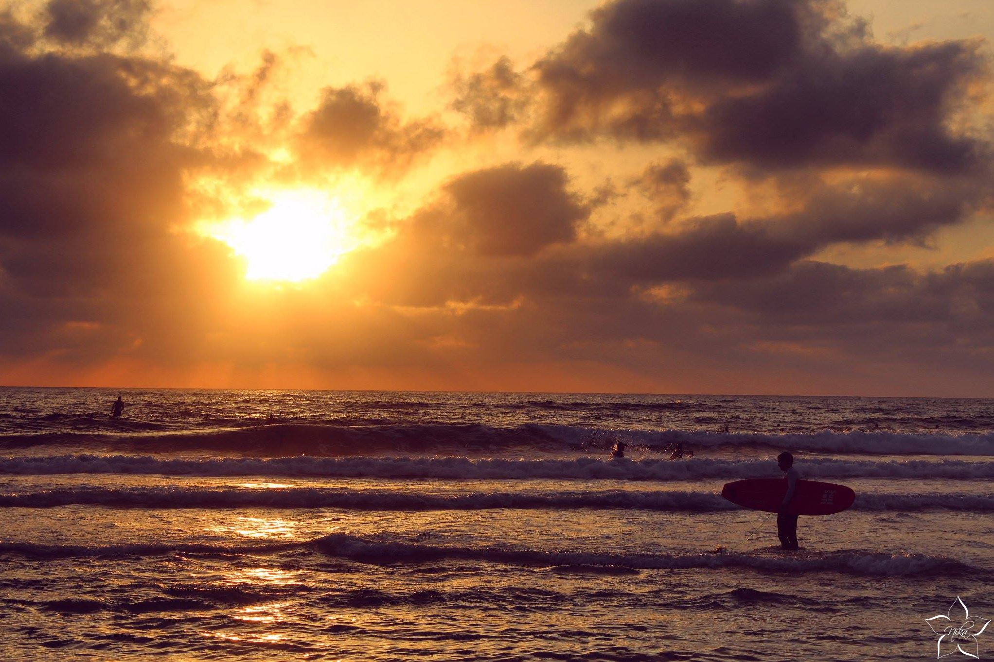 izrael sunset zapad slnka plaz
