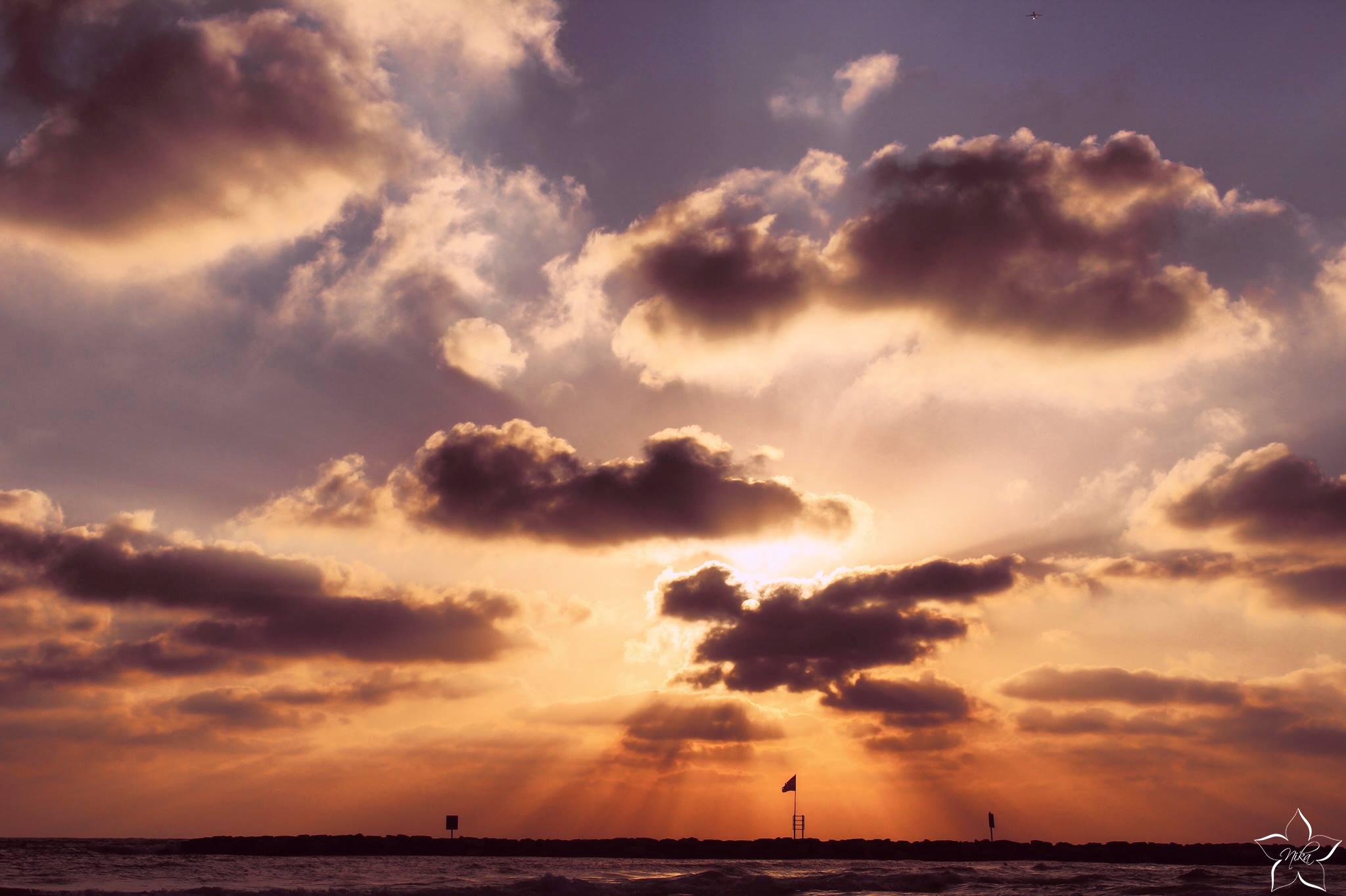 zapad slnka netanya izrael