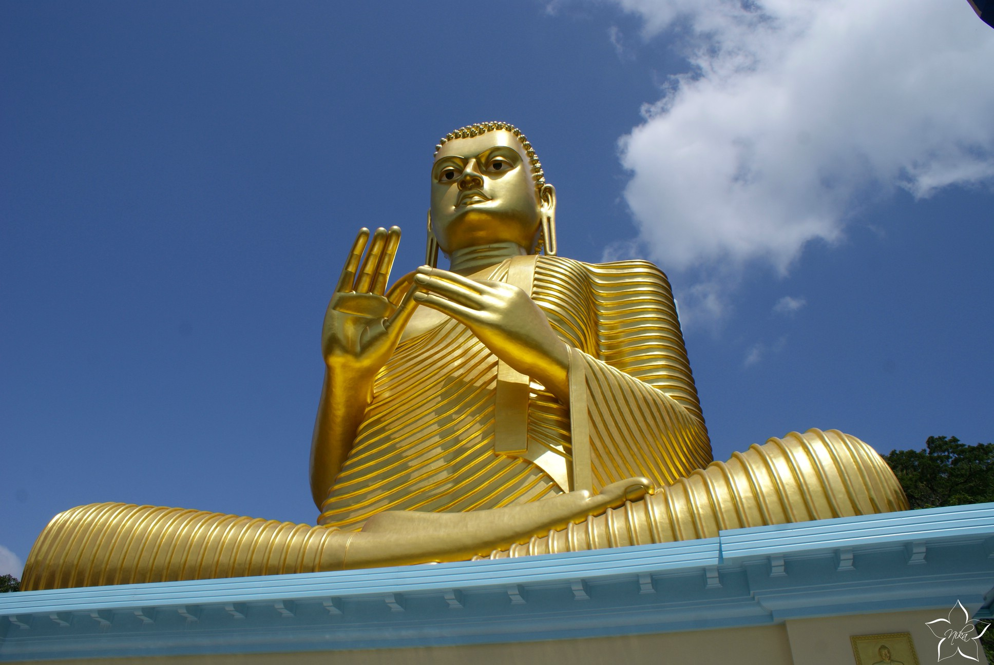 dambulla zlaty buddha sri lanka