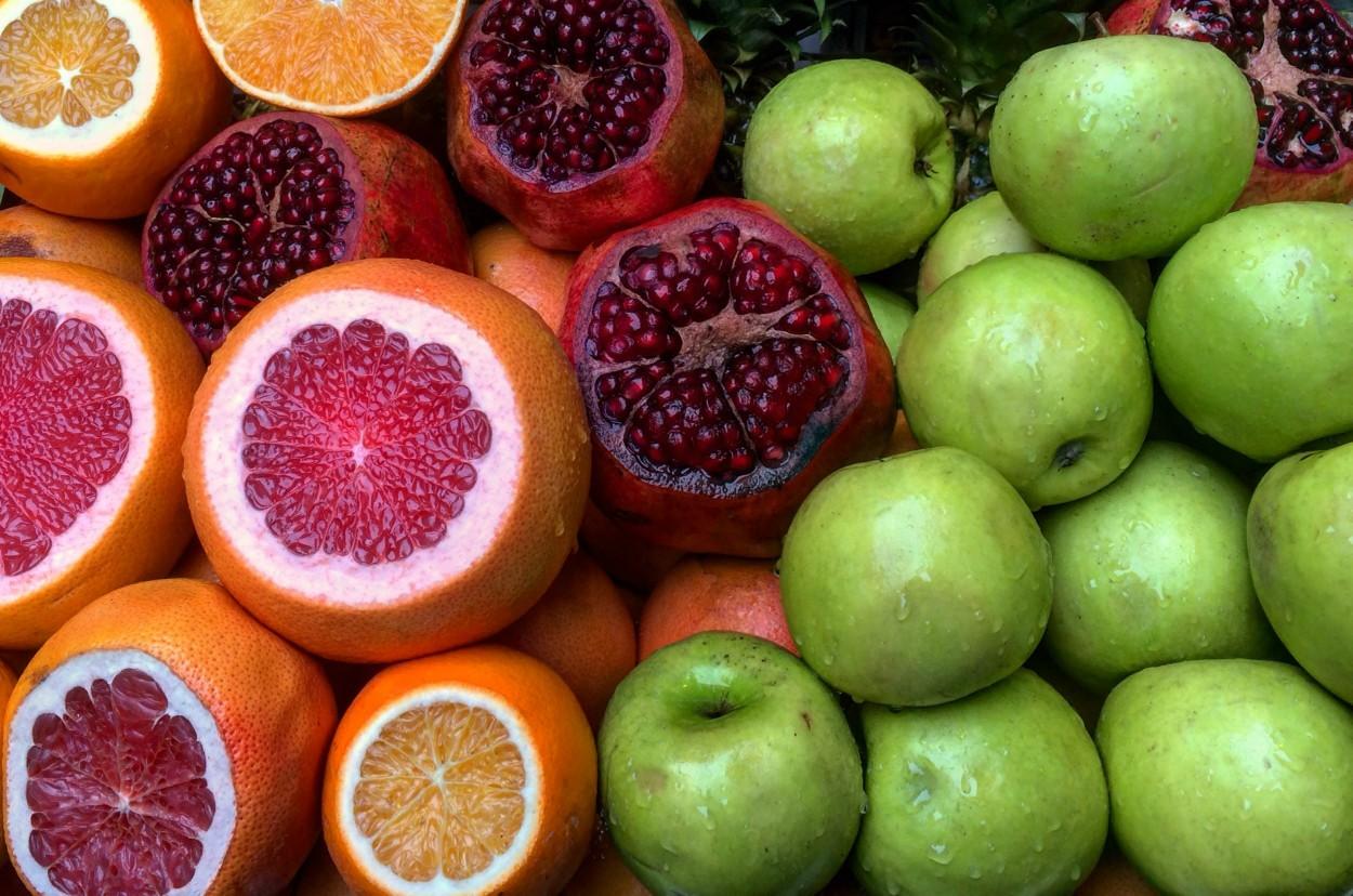 Istanbul ovocie trh