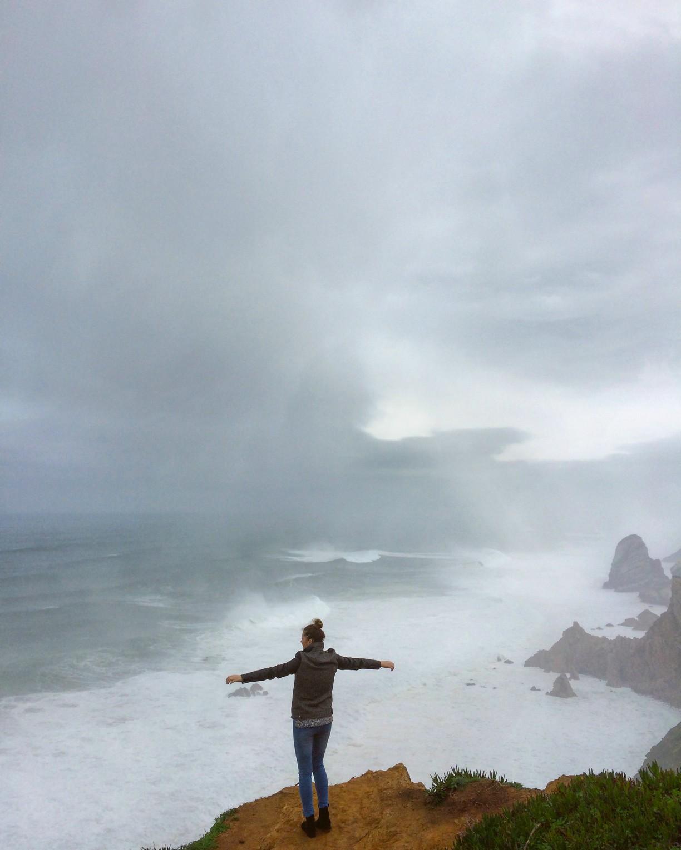 Portugalsko atlantik cabo da roca