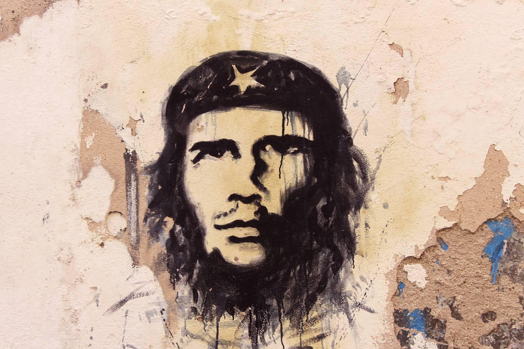 Pouličné umenie Havana - Che Guevara
