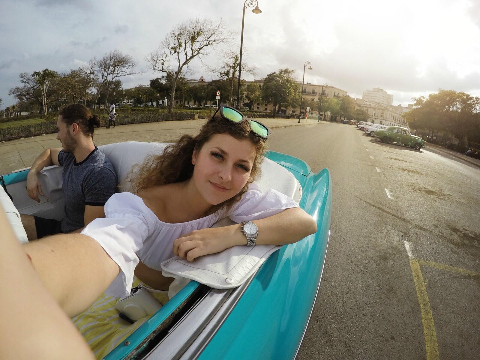Havana jazda v historickom aute
