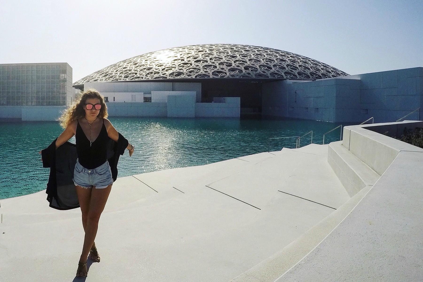 Cestovateľský blog Here Is Nika - múzeum Louvre v Abu Dhabi