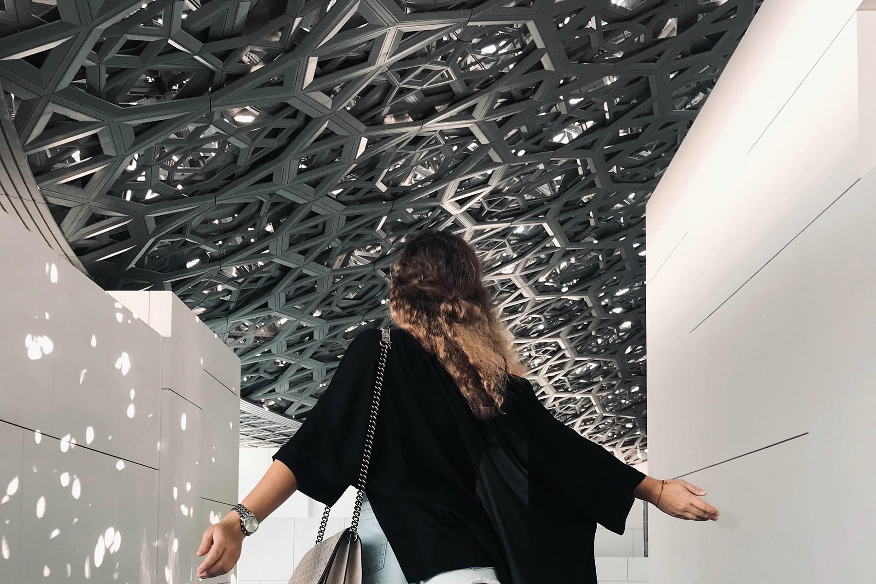 Múzeum Louvre v Abu Dhabi - Spojené Arabské Emiráty