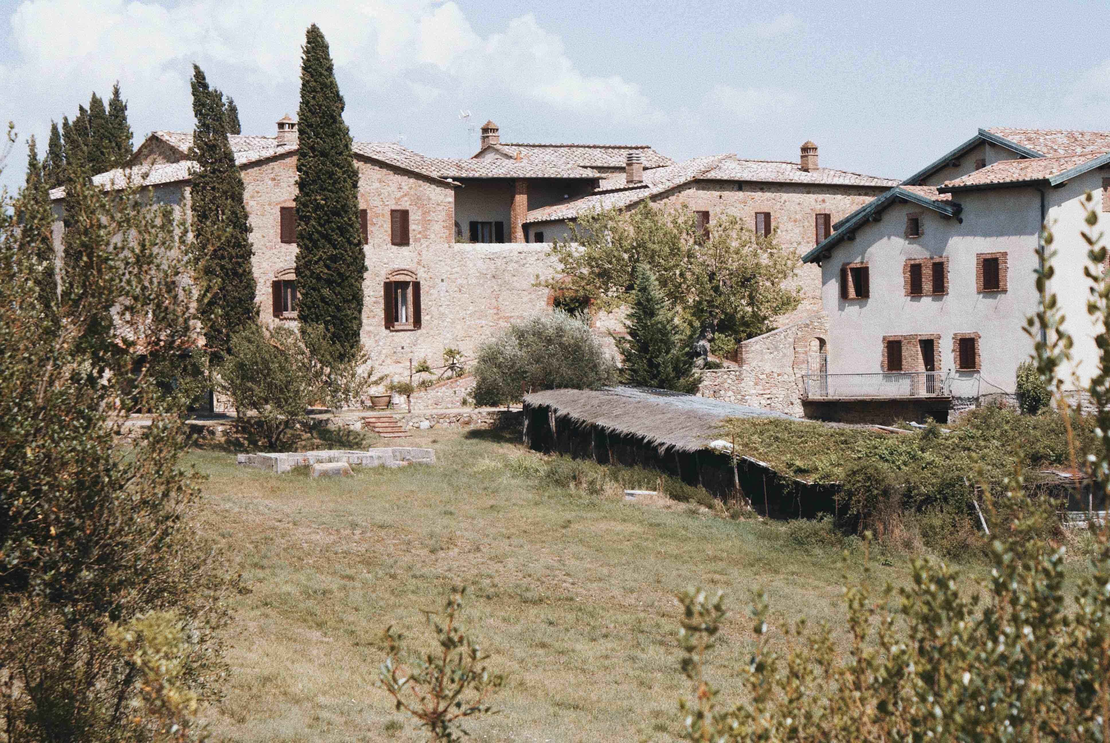 Toskánsko - agroturizmus v Taliansku