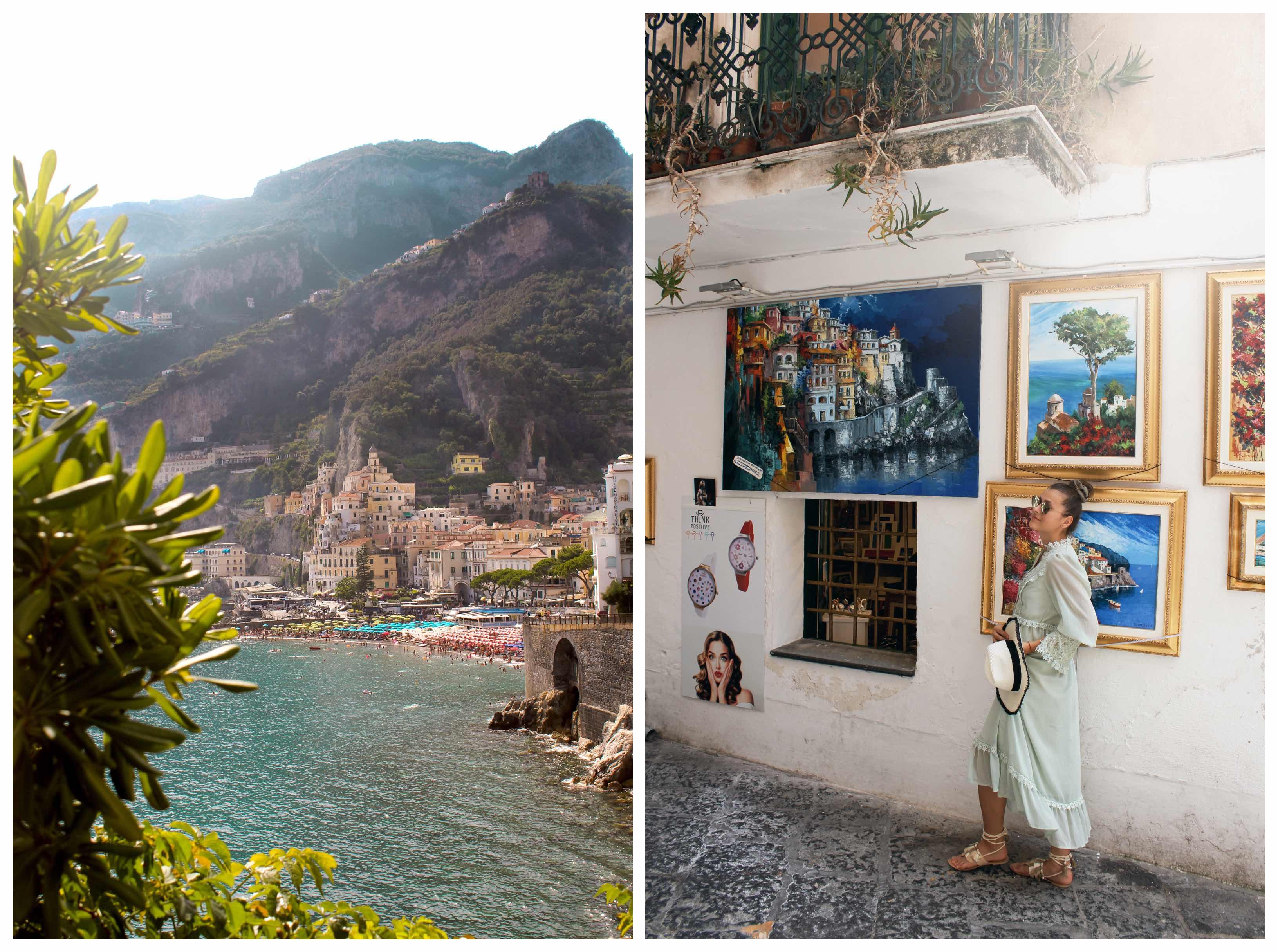 Z Neapolu na amalfské pobrežie