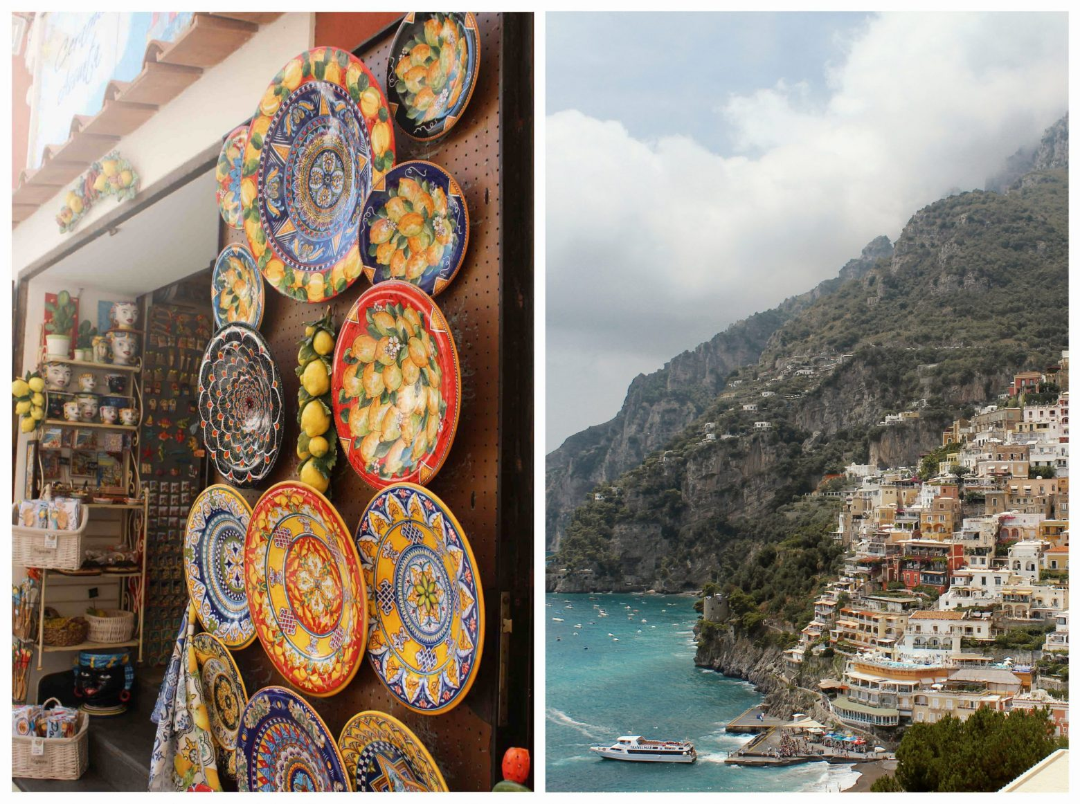 Amalfské pobrežie Taliansko