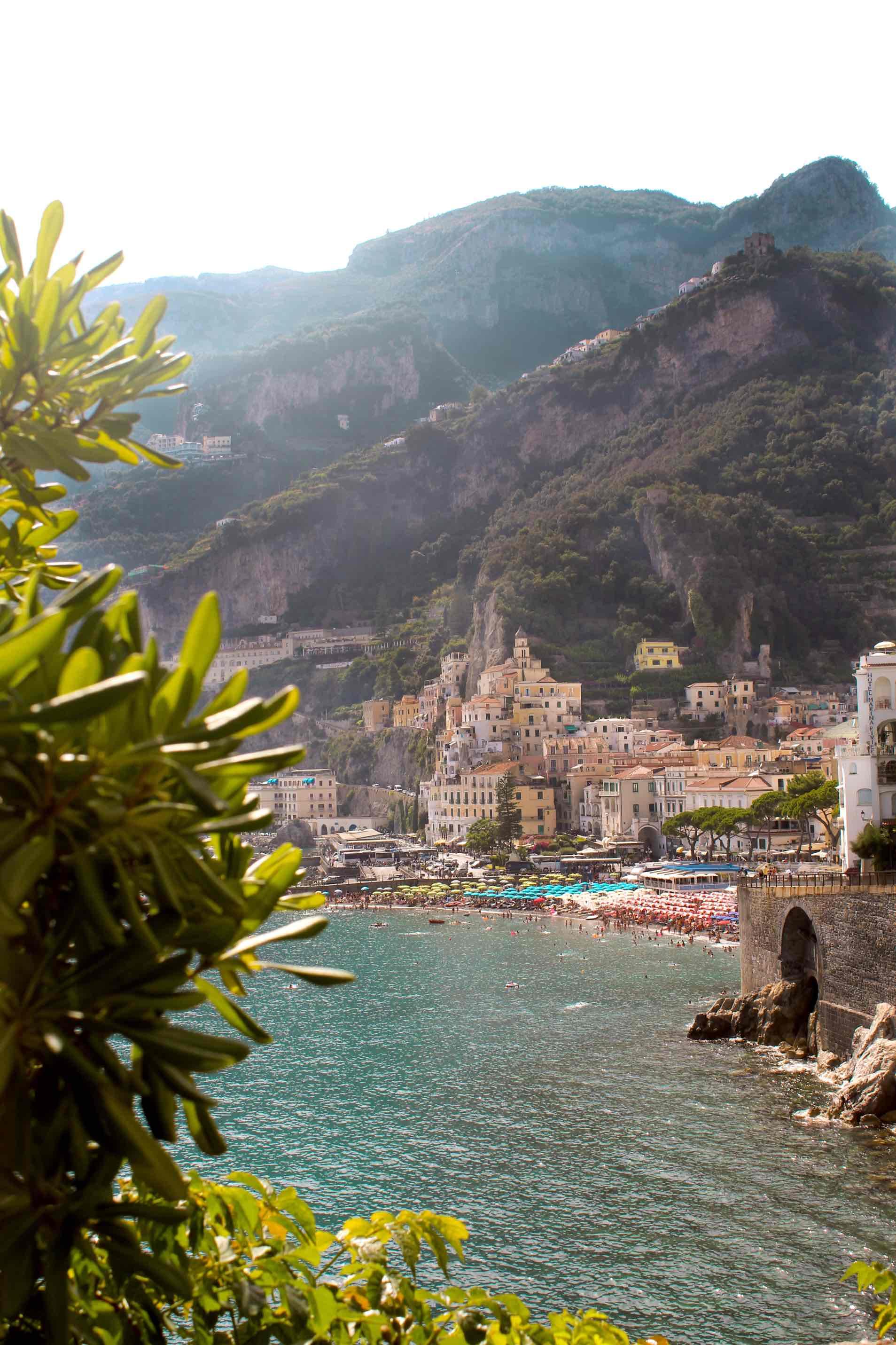 Z Neapolu na amalfské pobrežie - tipy a triky