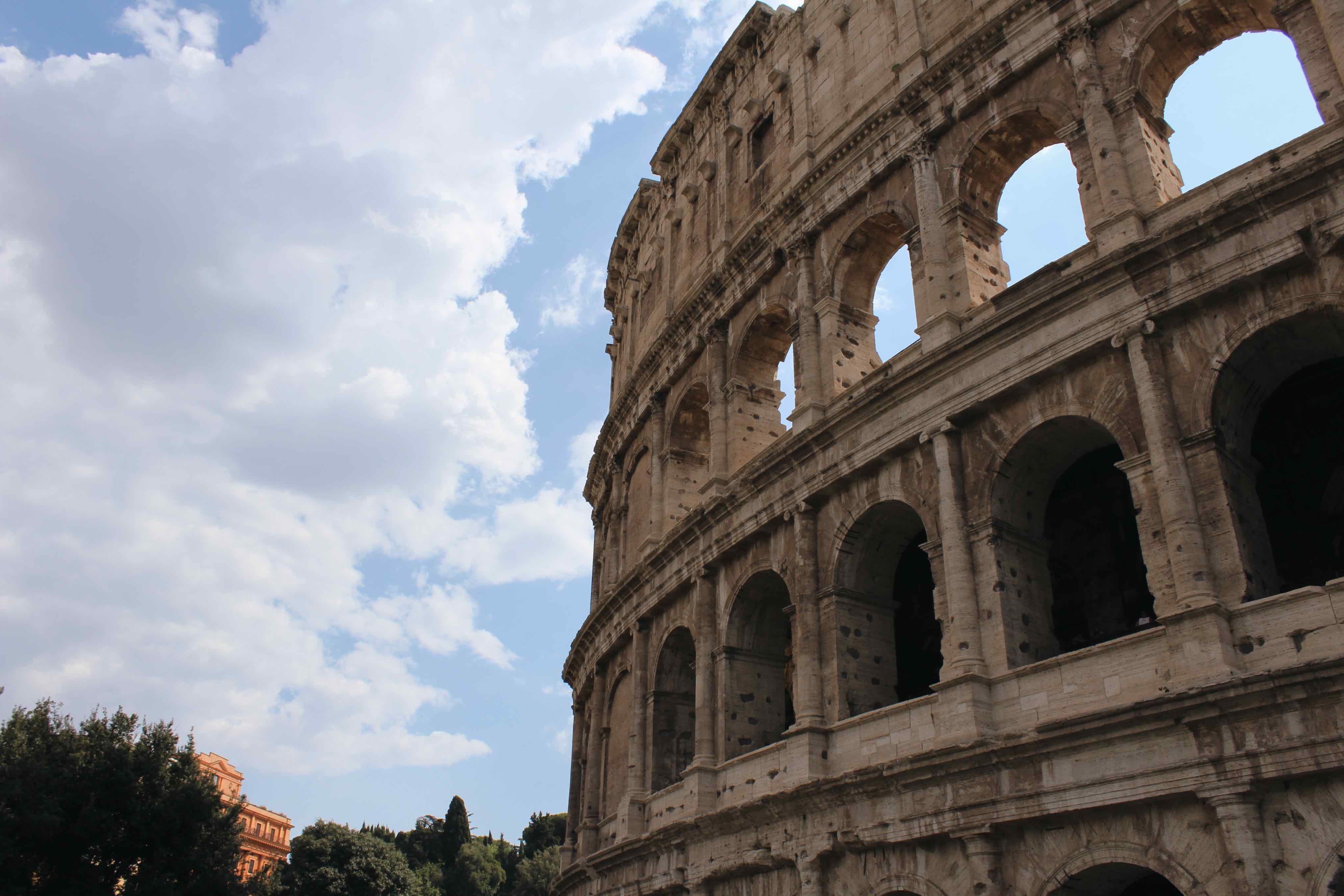 Koloseum - Víkend v Ríme - ako sa dostať z letiska do centra