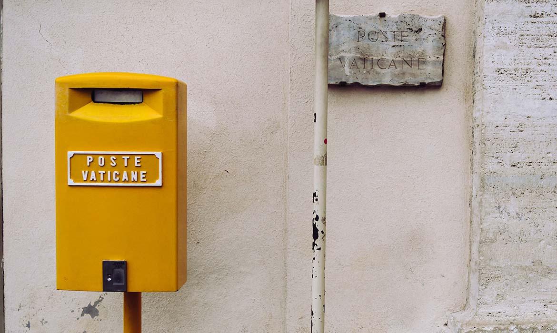 Zaujímavosti o Vatikáne - Vatikánska pošta