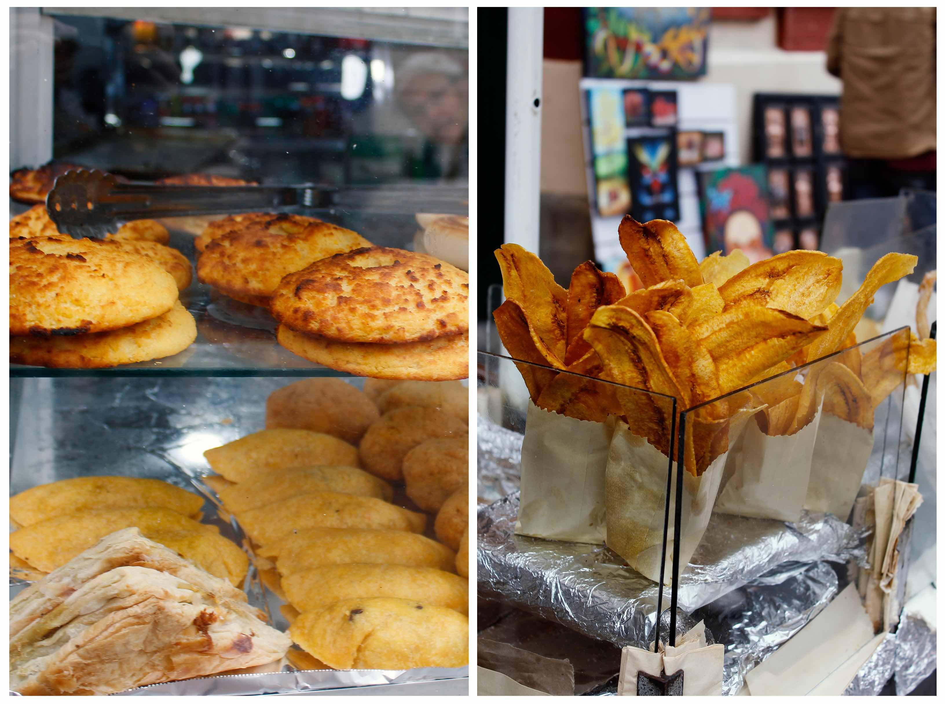 Čo ochutnať v Bogote - street food
