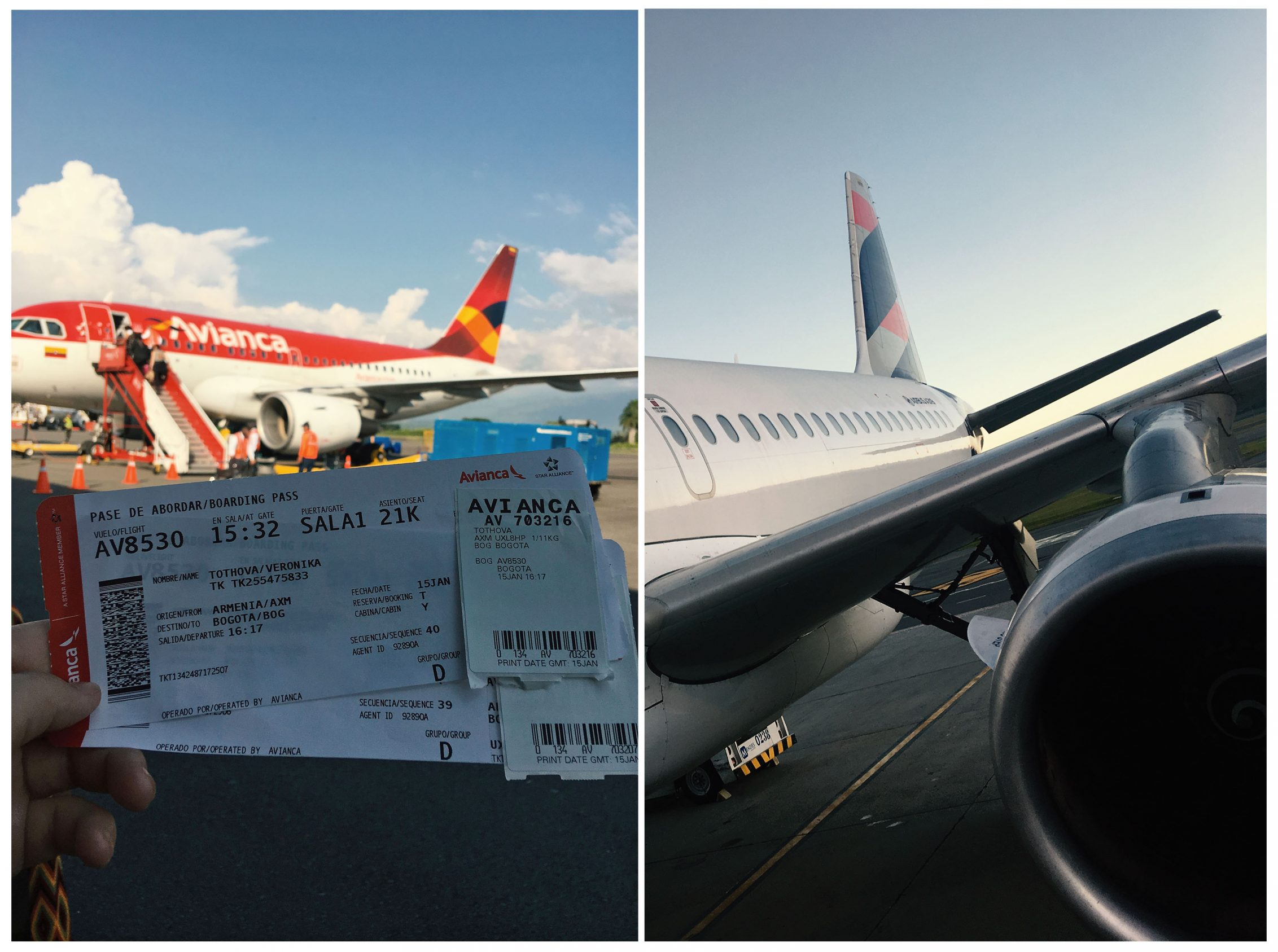 Dovolenka v Kolumbii - letenky do Kolumbie