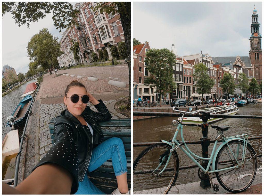Výlet do Amsterdamu - mesta cyklistov