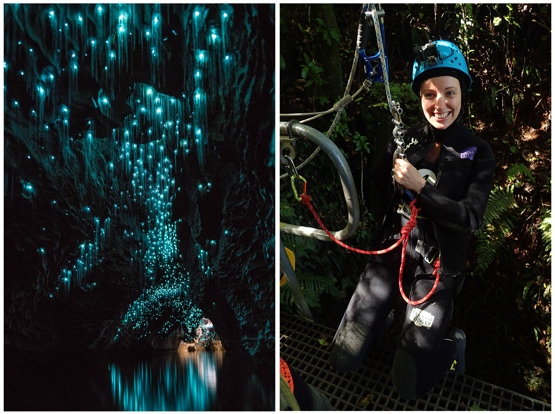 Waitomo Caves Nový Zéland