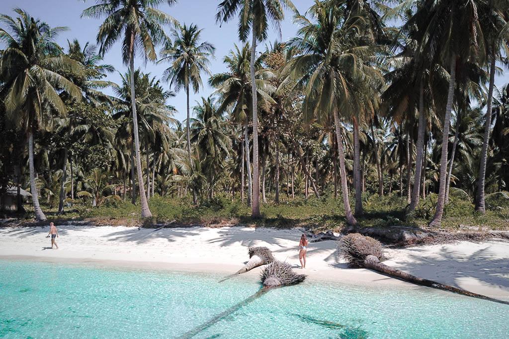 Ostrov Balabac Filipíny