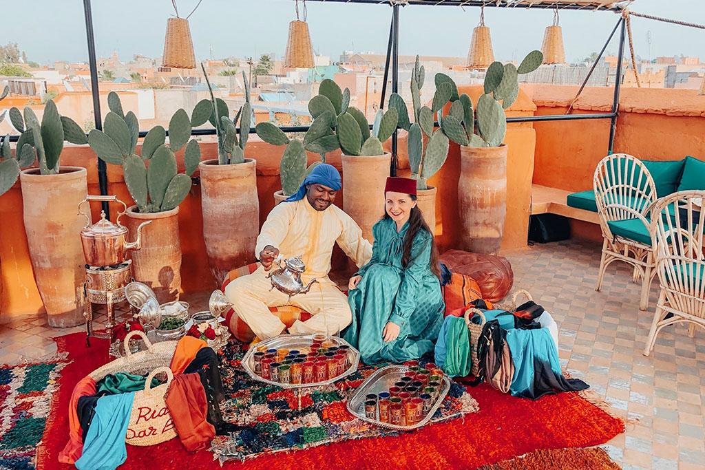 Party Maroko