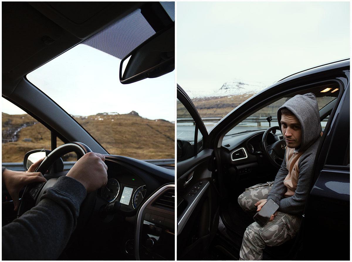 Auto na Faerských ostrovoch