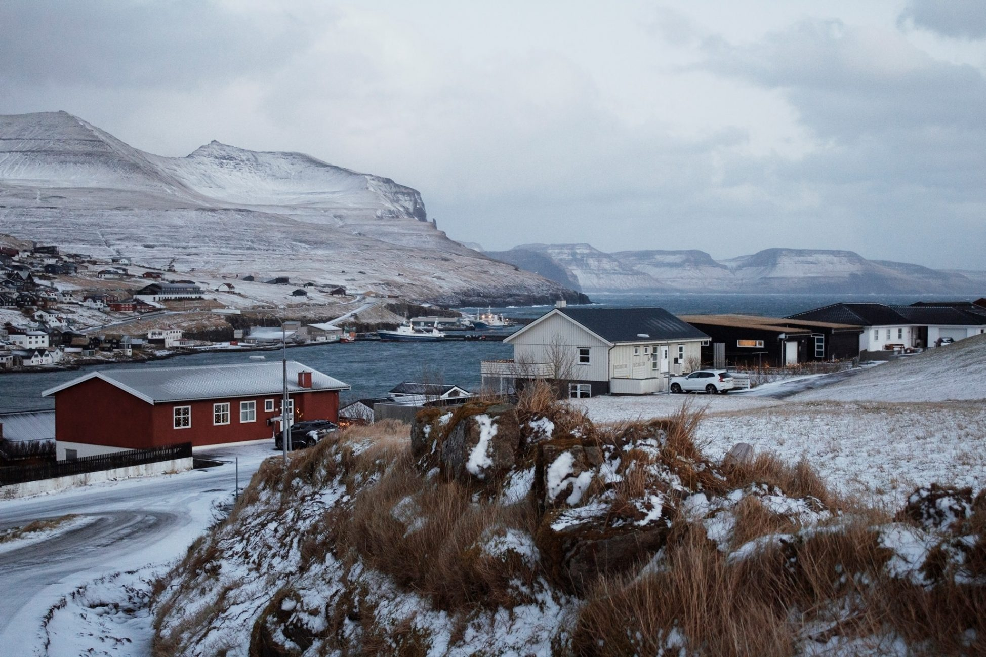 Cestovanie na Faerské ostrovy v zime