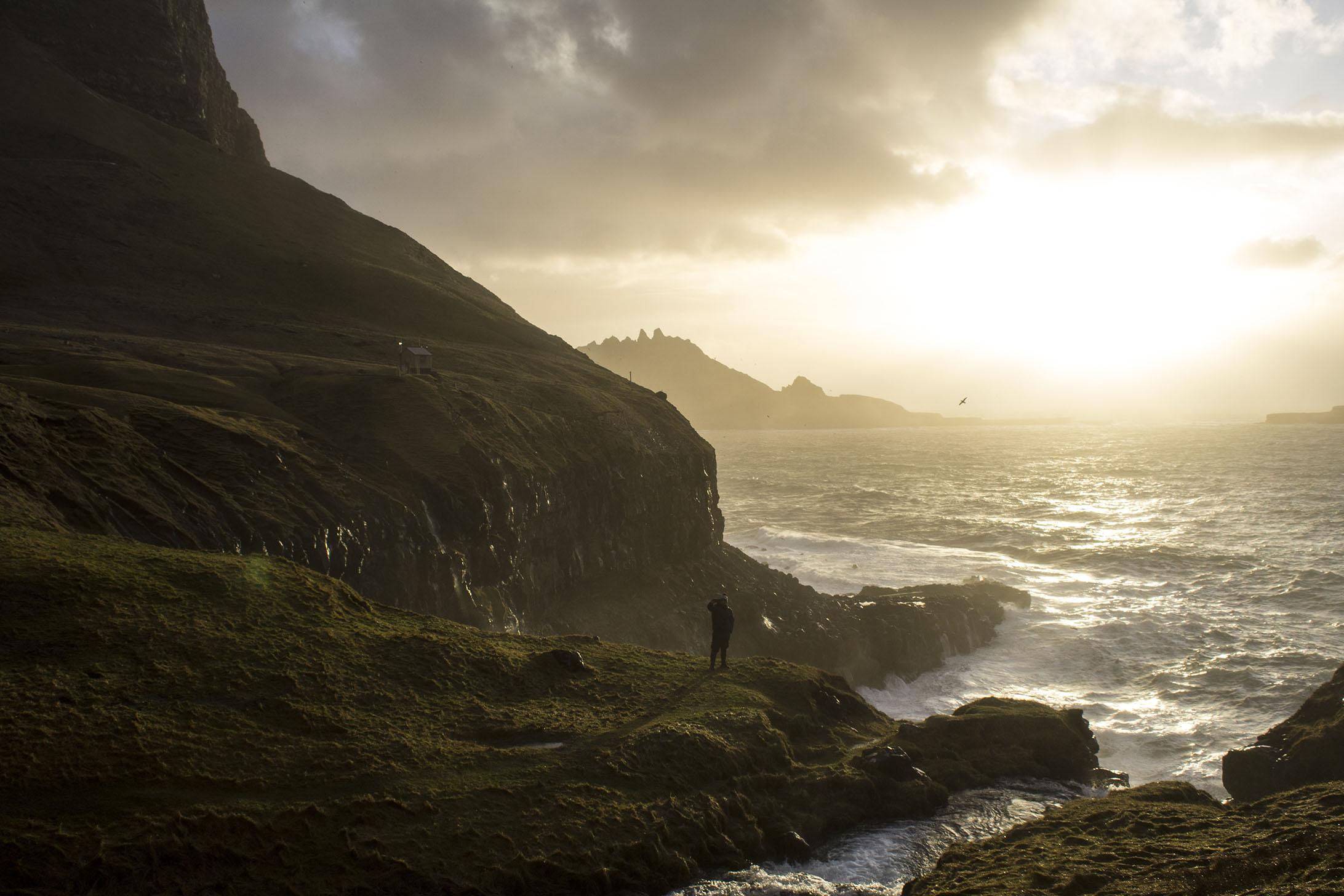 Faerské ostrovy - dedina Gasadalur