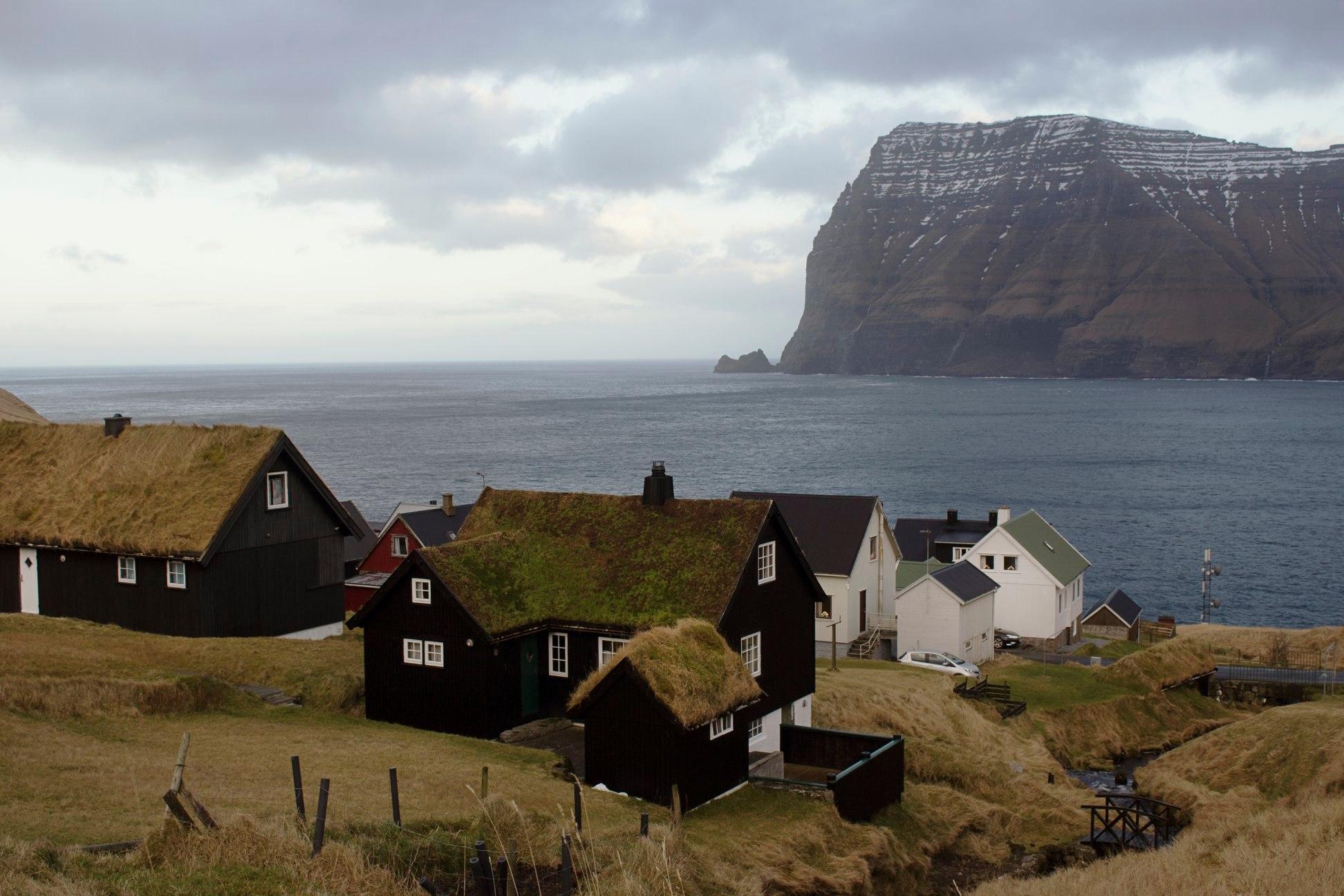 Mikladalur - dedina na Faerských ostrovoch