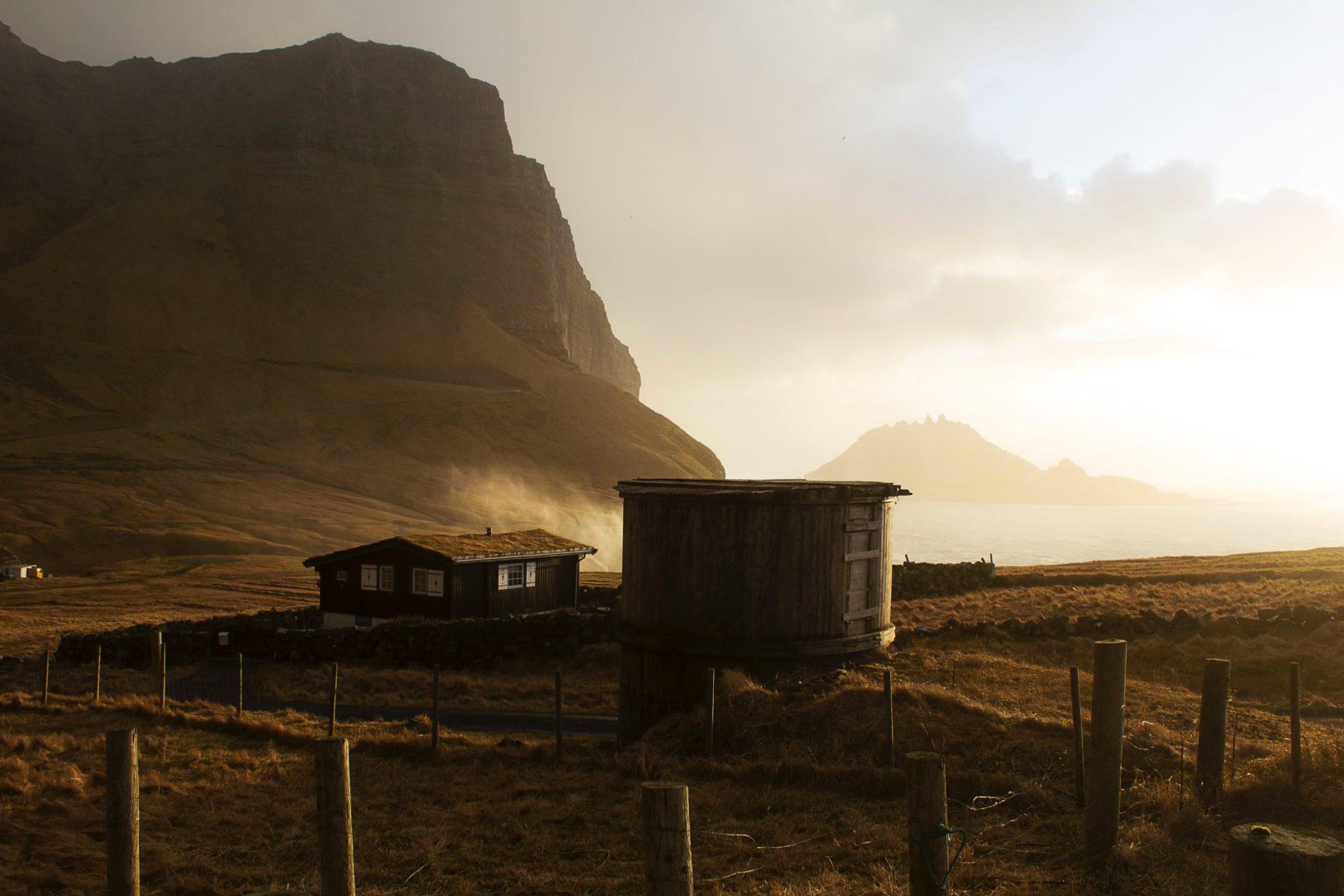 Faerské ostrovy - dedina Gásadalur