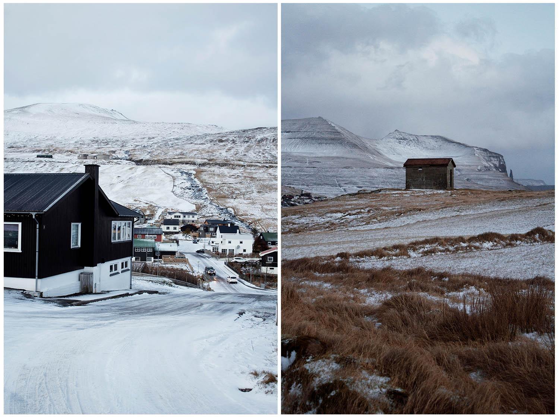 Trælanípa-ostrov Vágar-turistika na Faerských ostrovoch