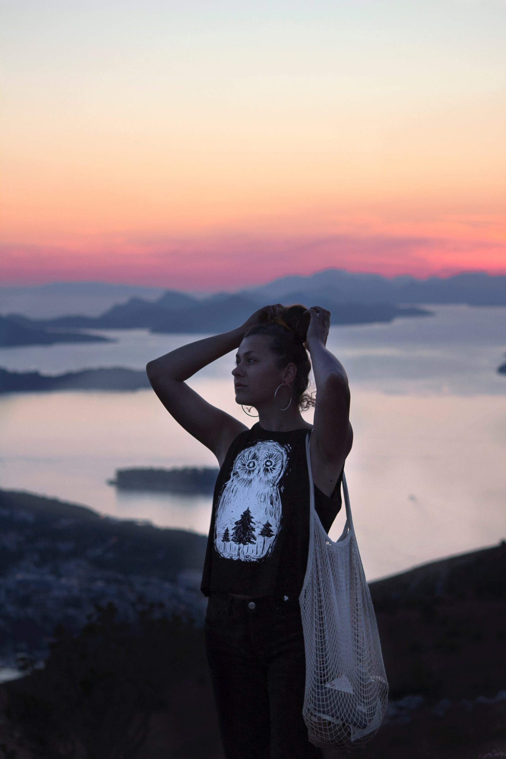 Západ slnka na hore Srd - Dubrovník